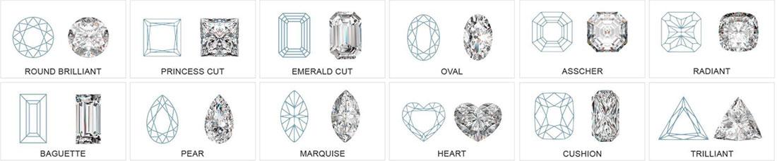types-of-diamond-cuts